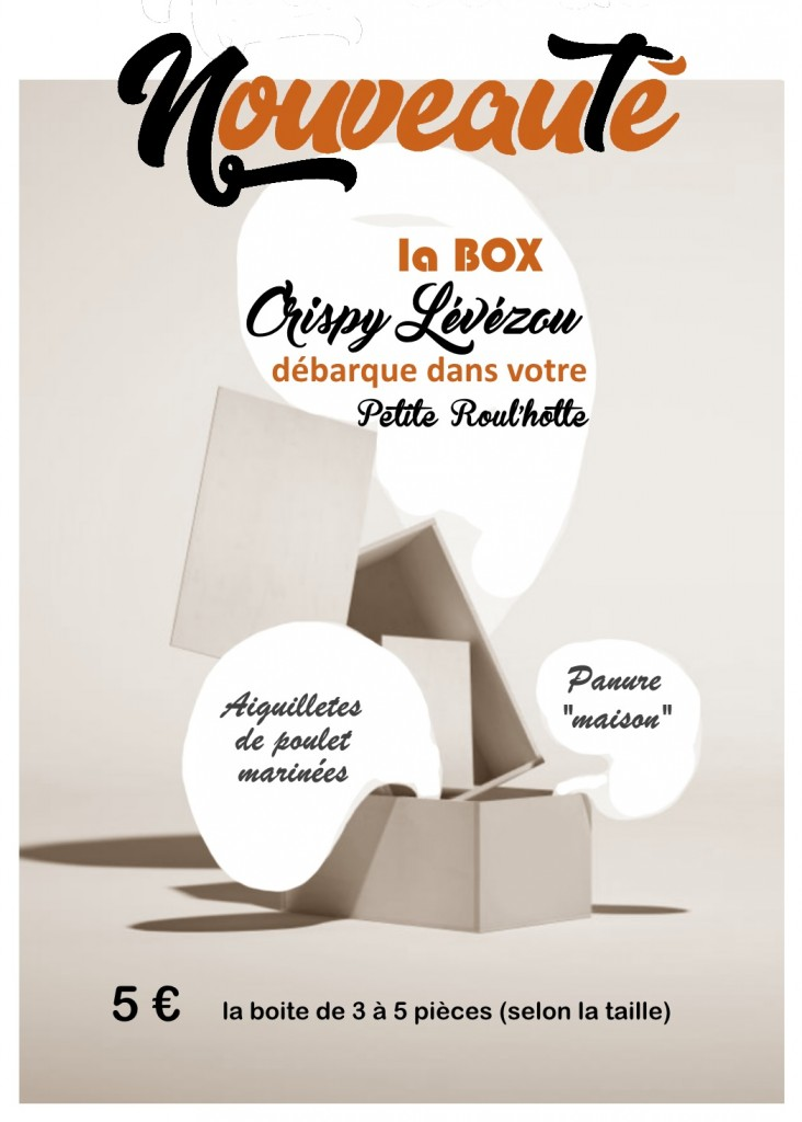 Box Crispy lévezou