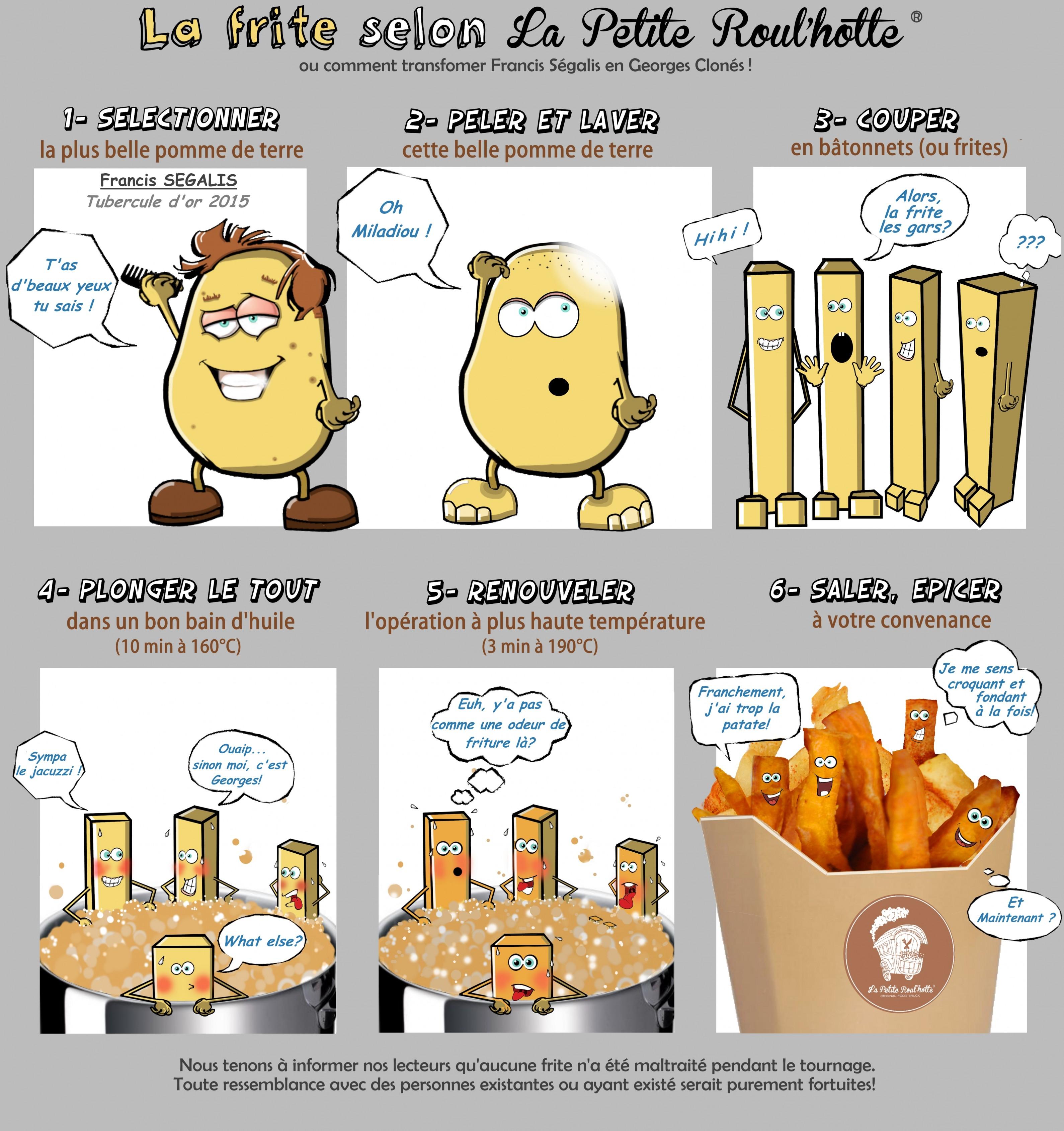 Francis Ségalis- La frite selon La Petite Roul'hotte